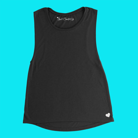About a Beautiful Life Slouchy Tank