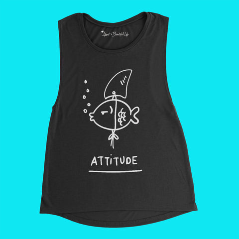 About No Regrets Muscle Tank