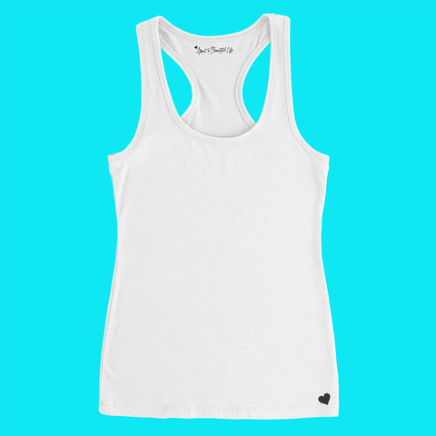 About Be Fearless Racer Tank