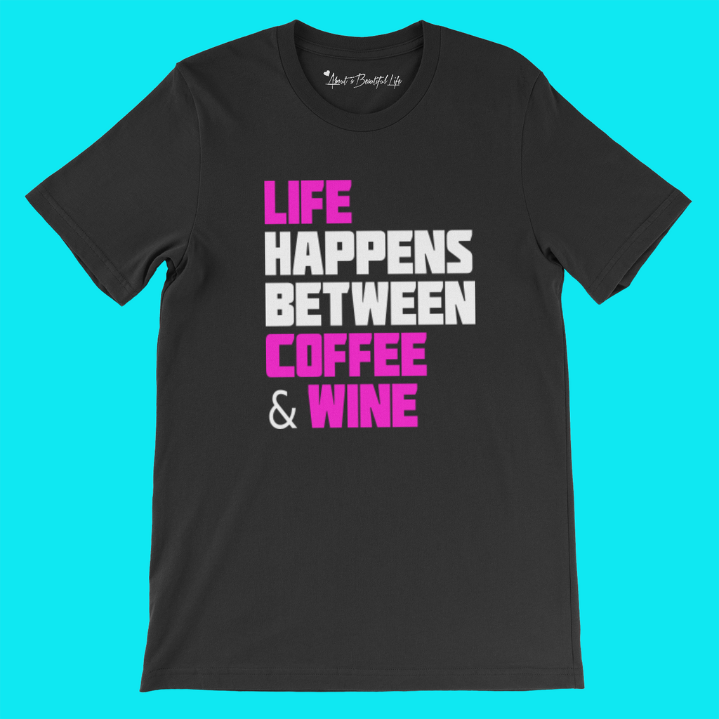 About Wine Tee