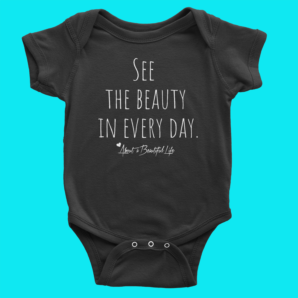 About Beauty Baby Onesie