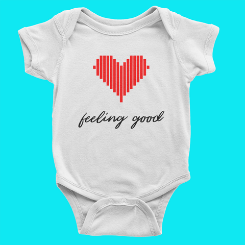 About #flawless Baby Onesie
