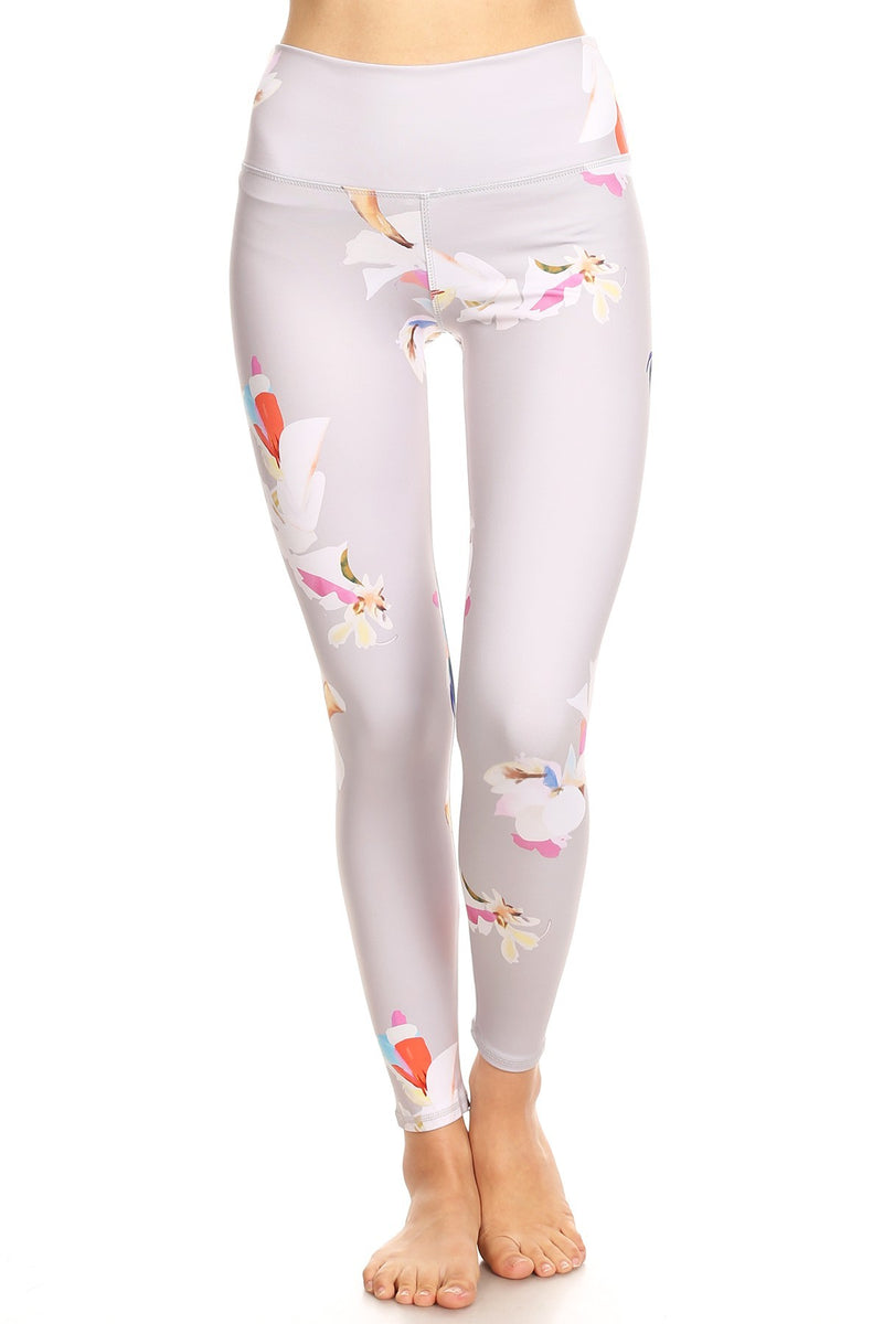 Women's Ultra Soft Floral Printed Legging