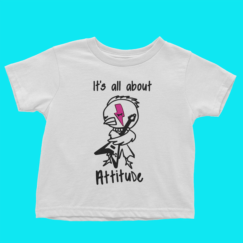 About Attitude Toddler Tee