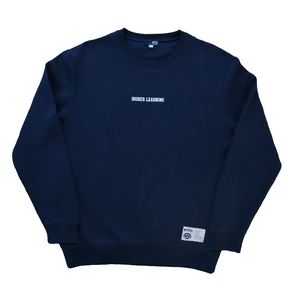 HIGHER LEARNING CREWNECK - NAVY