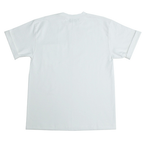 NOT MADE FOR THE FAINT OF HEART POCKET TEE - WHITE