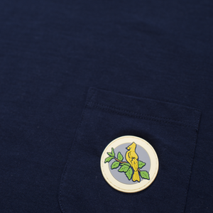 WE POCKET TEE - NAVY