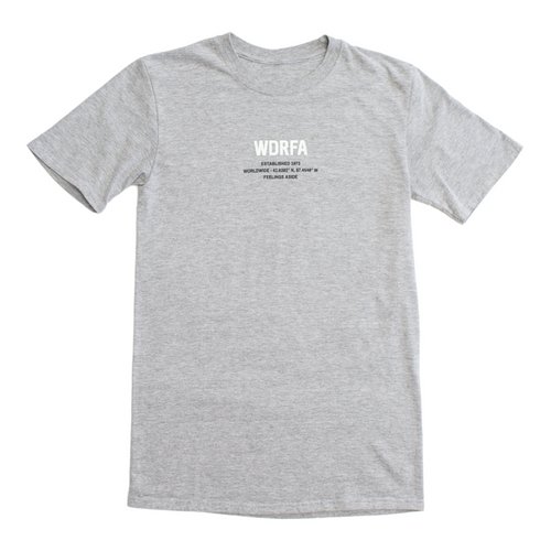 FEELINGS ASIDE TEE - GREY