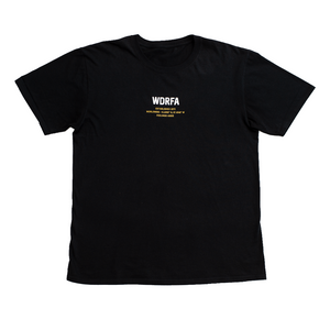 FEELINGS ASIDE TEE - BLACK