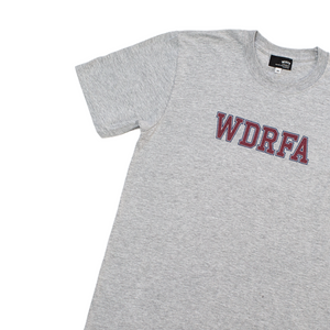 COLLEGIATE TEE - GREY