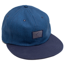 Load image into Gallery viewer, WDRFA x CMBD Denim Inspired 6 Panel
