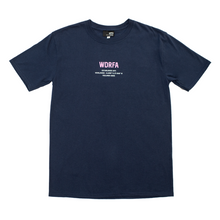 Load image into Gallery viewer, FEELINGS ASIDE TEE - NAVY