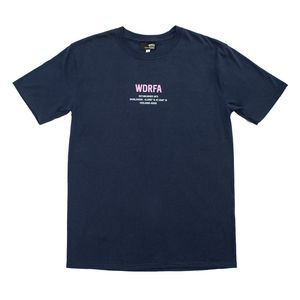 FEELINGS ASIDE TEE - NAVY