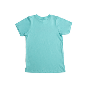 BETWEEN THE LINES KIDS TEE - TEAL
