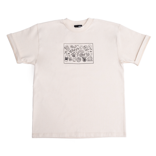 LIFESTYLE TEE - NATURAL