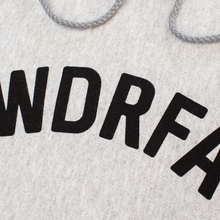 Load image into Gallery viewer, WDRFA ARCHED LOGO HOODIE - GREY