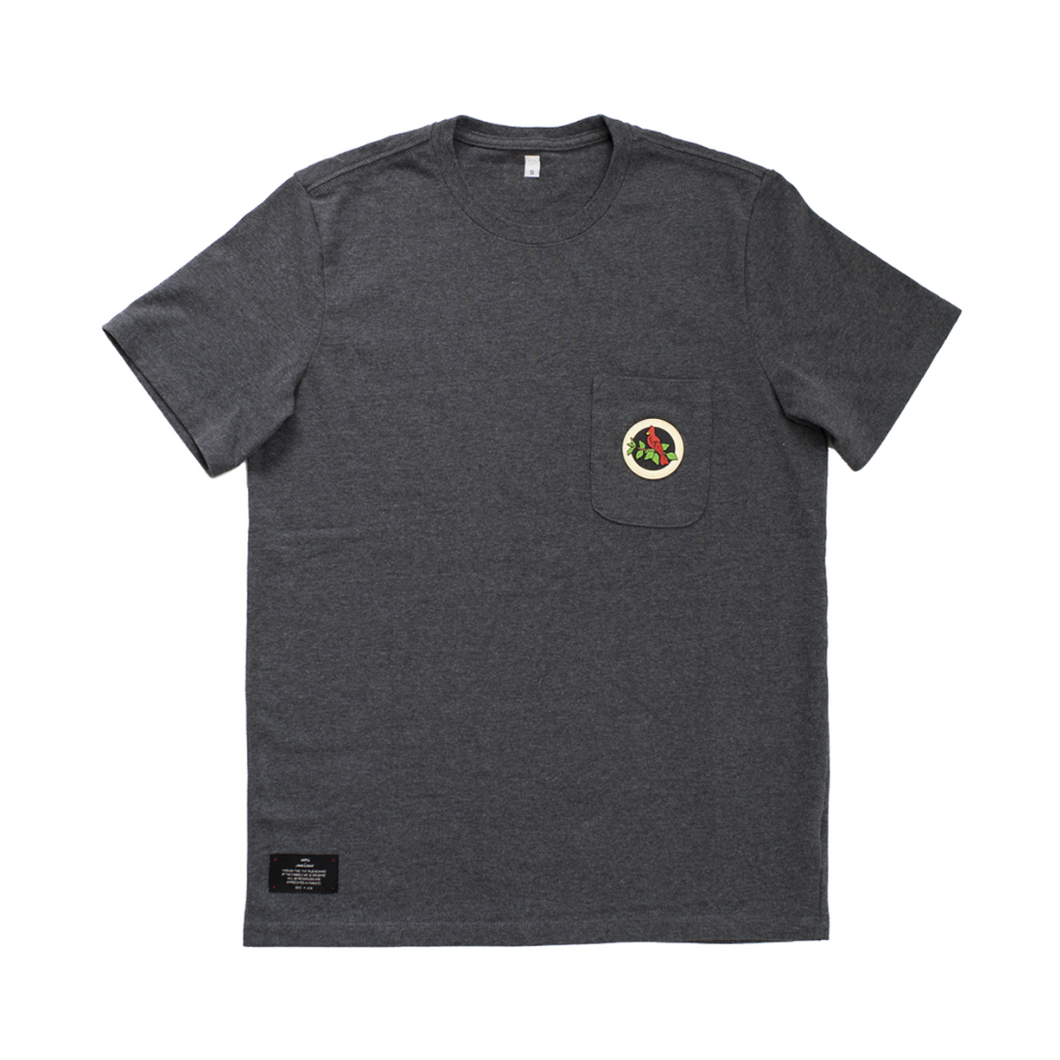 WE POCKET TEE - GREY