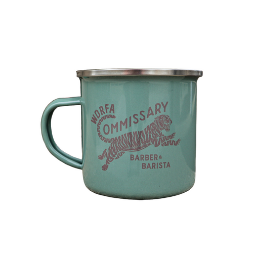 WDRFA x Commissary Green Mug