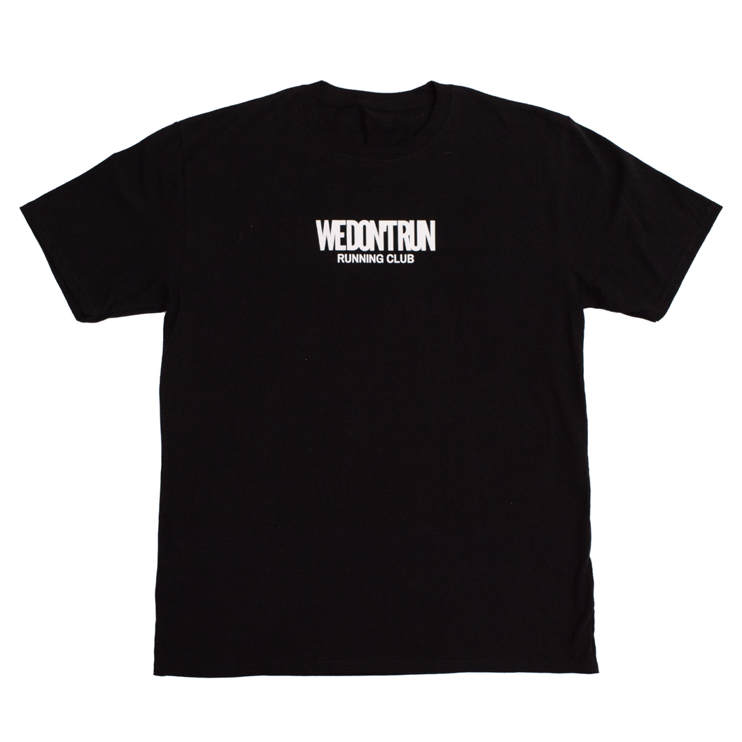 RUN CLUB TEE - BLACK