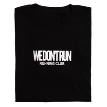 Load image into Gallery viewer, RUN CLUB TEE - BLACK
