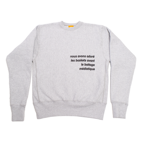 WDRFA X GOT SOLE? CREWNECK