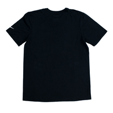 Load image into Gallery viewer, WE DON'T RUN TEE - BLACK