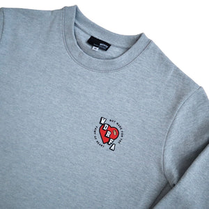 NOT MADE FOR THE FAINT OF HEART CREWNECK