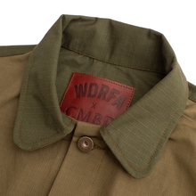 Load image into Gallery viewer, WDRFA x CMBD 'Shades of Green' Chore Jacket