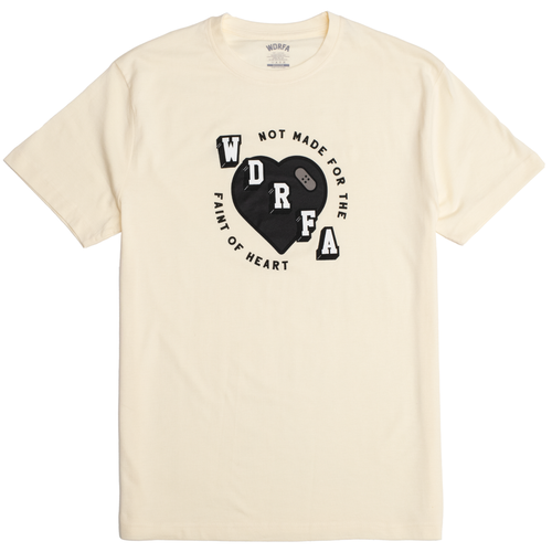 NOT MADE FOR THE FAINT OF HEART TEE - OFF WHITE