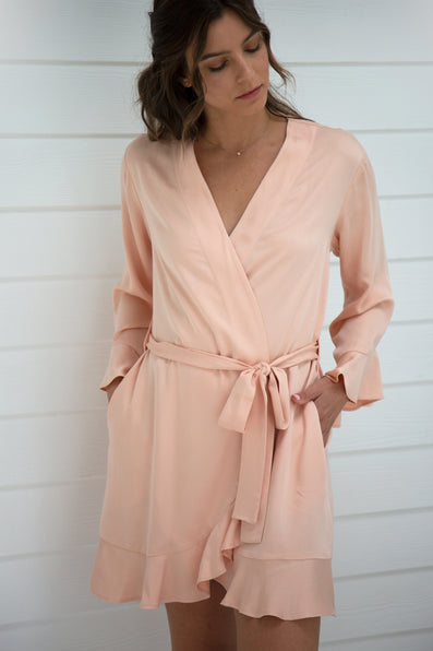 Ruffle Robe - Sunrise