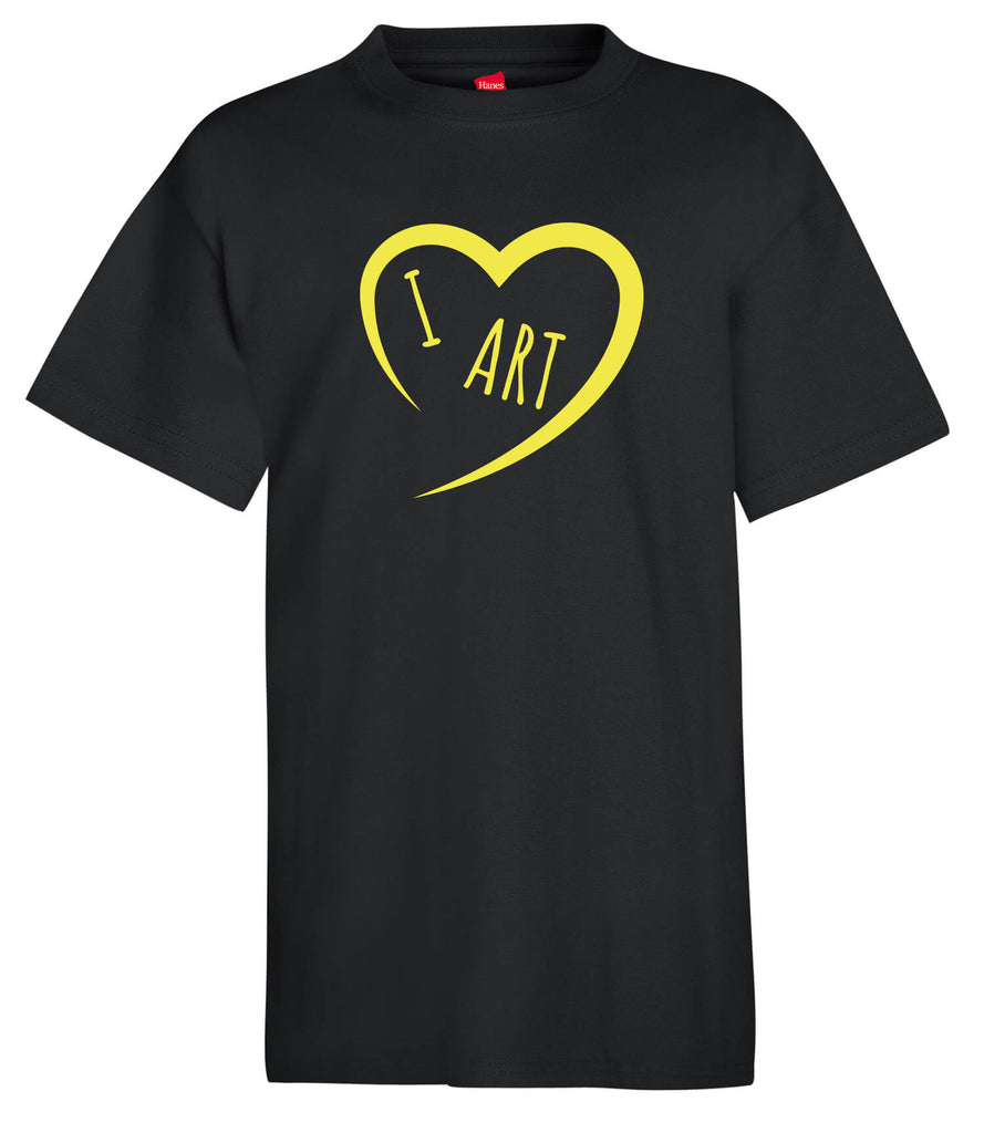 Clothing - I Create Art Kids T-Shirts_Art Heart