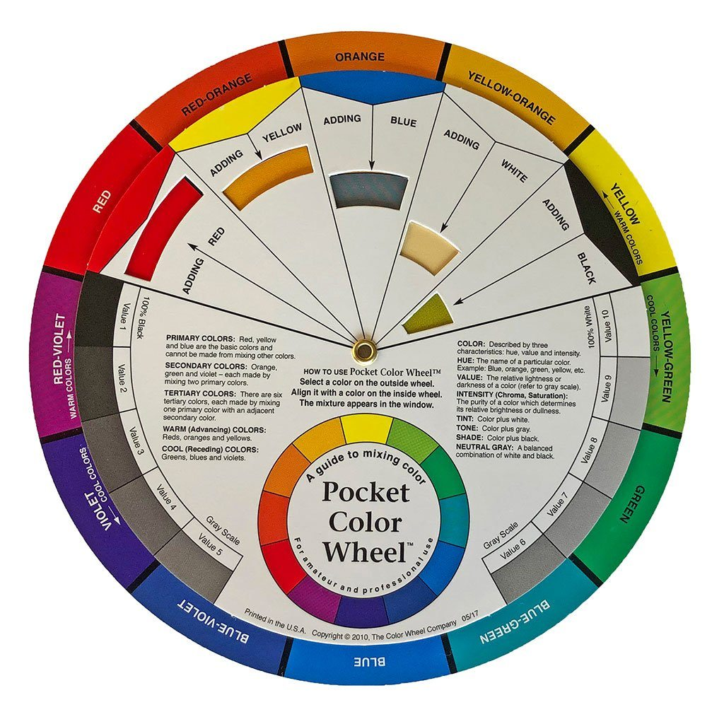 Pocket Color Wheel™ Accessory i Create Art Kit