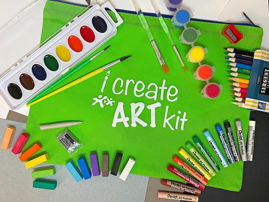 Kids & Adult Art Box Sampler i Create Art Kit