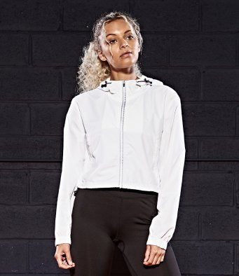 LADIES CROPPED LIGHTWEIGHT COVERUP JACKET