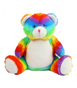 SOFT TOY RAINBOW BEAR