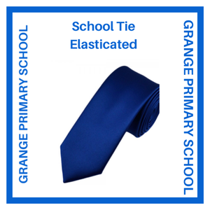 GRANGE PRIMARY SCHOOL TIE ELASTICATED