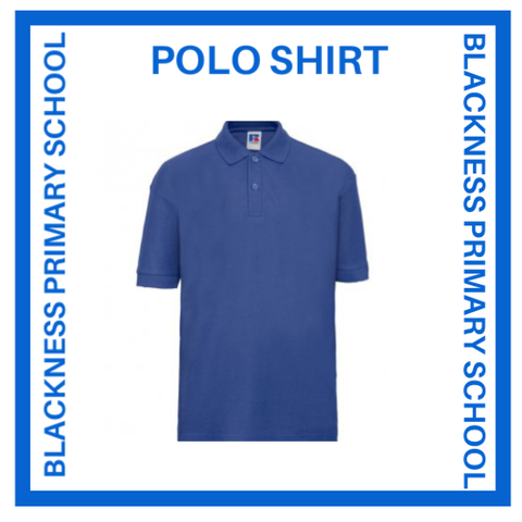 BLACKNESS PRIMARY SCHOOL POLO SHIRT
