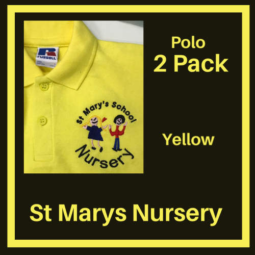 ST MARY'S NURSERY - POLO SHIRTS TWO PACK