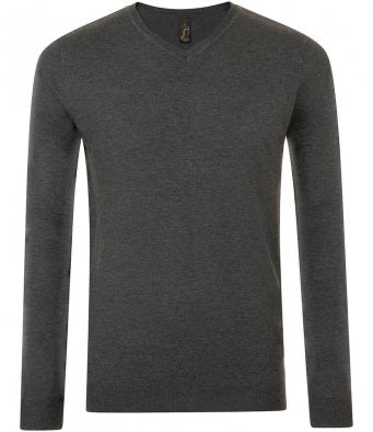 Sweater knitted style v neck