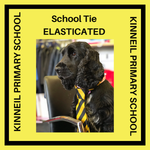 KINNEIL PRIMARY SCHOOL TIE - ELASTICATED