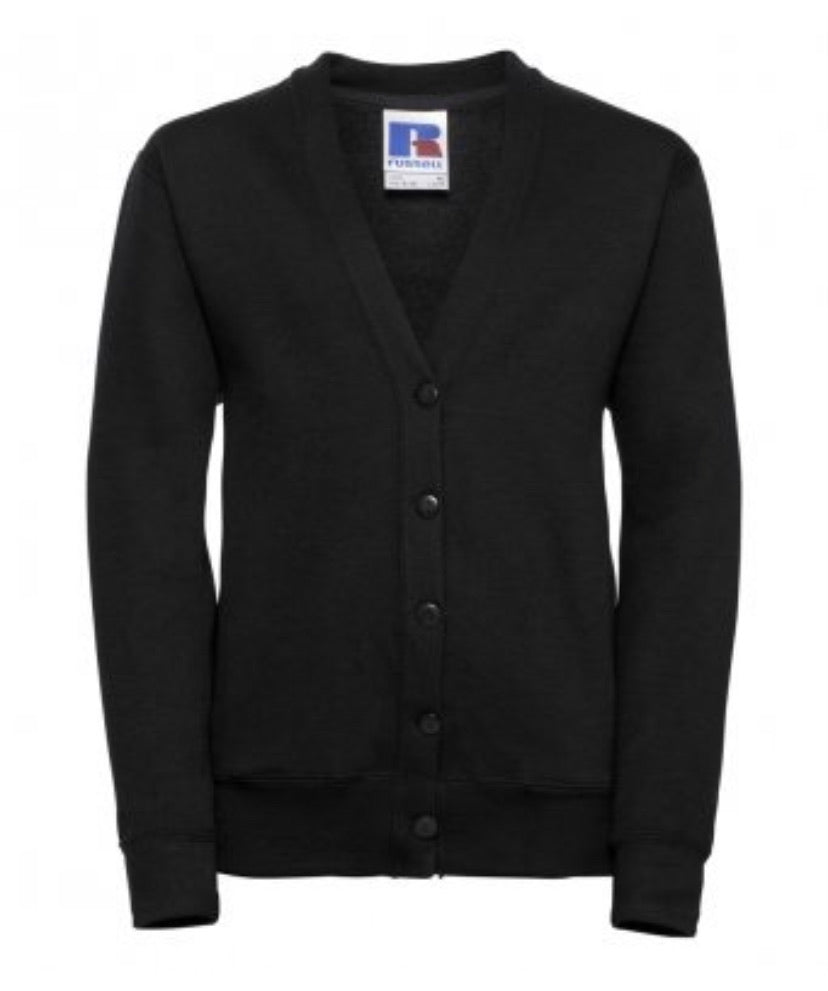 PUBLIC PRIMARY SCHOOL CARDIGAN BLACK