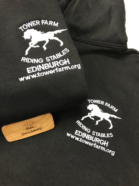 TOWER FARM STABLES HOODIES kids sizes