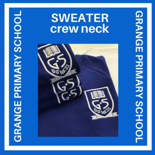 GRANGE PRIMARY SWEATER - ROUND NECK