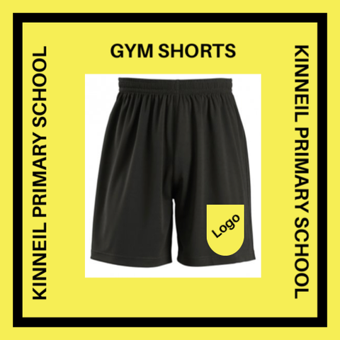 KINNEIL PRIMARY SCHOOL GYM SHORTS