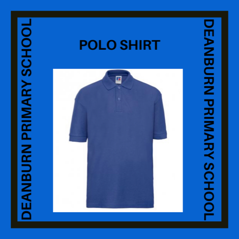 DEANBURN PRIMARY SCHOOL POLO SHIRT EMBROIDERED