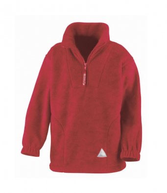PUBLIC SCHOOL LOGO FLEECE HALF ZIP polar fleece