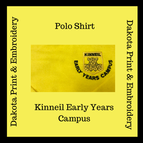 Kinneil Early Years Campus Polo Shirt - Unisex
