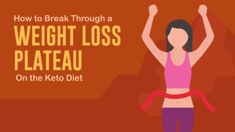 How To Break Through A Weight-Loss Plateau on a Low Carb Keto Diet