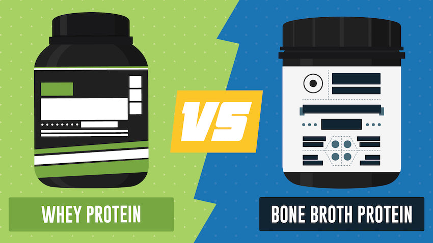 Whey Protein Vs Bone Broth Protein
