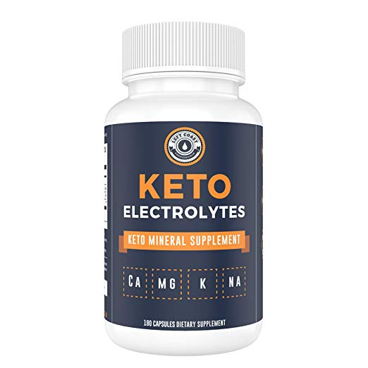 Keto Electrolyte Supplement Left Coast Performance